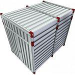 Materiaalcontainer verhoogd - 3 meter