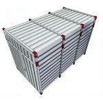 Materiaalcontainer verhoogd - 4 meter