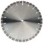 Lasergelast handzaagblad met turbo segmenten - 300 mm - 2,4mm -