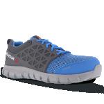 Reebok 1038 S1P Werkschoenen | laag model grijs/blauw | maat 39-47 | 4.45.31.038 | gratis bezorging - JSK Handelsonderneming