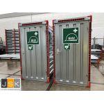 EHBO - BHV container unit | Basic uitvoering | KV1 - JSK Handelsonderneming