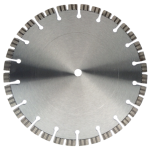 Diamantzaagblad premium met turbo segmenten | UST1903/TK | 350mmx15.88H | 2,4mm type Cayenne | 10 mm hoge lasergelaste segmenten - JSK Handelsonderneming