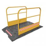Loopbrug met leuning - JSK Handelsonderneming