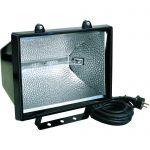 108051 | Halogeenlamp 1000 Watt klasse 2 | met kabel en stekker 5 meter - JSK Handelsonderneming