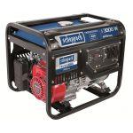 5906209901 | Scheppach Stroomgenerator SG3500 | 3000W | Honda Motor | 67 dB geluidsniveau op 7 meter afstand | 48.6 kg | IP23 - JSK Handelsonderneming