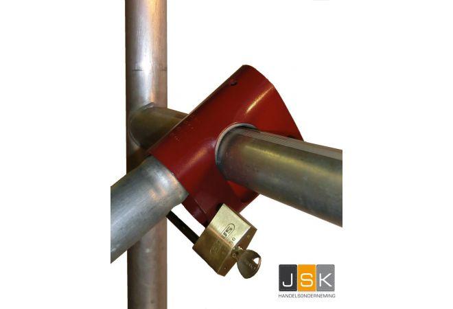 Rolsteigerslot - voor het beveiligen van bouwsteigers - JSK Handelsonderneming