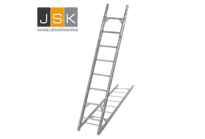 Steigerladder volgens Layher model - JSK Handelsonderneming