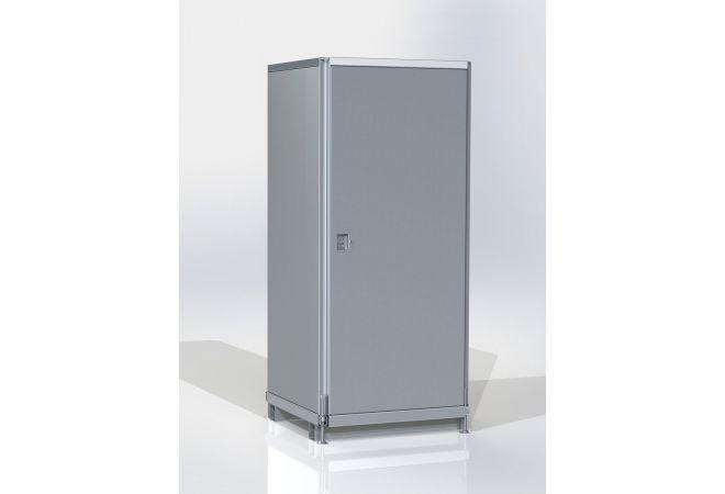 Mobiele beveiligingskasten voor Tijdelijke Beveiliging of Bouwplaatsbeveiliging MSB6-Basic - JSK Handelsonderneming