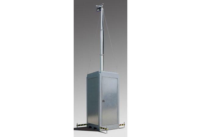 Camera Box voor Tijdelijke Beveiliging of Bouwplaatsbeveiliging MSB6-Premium - JSK Handelsonderneming