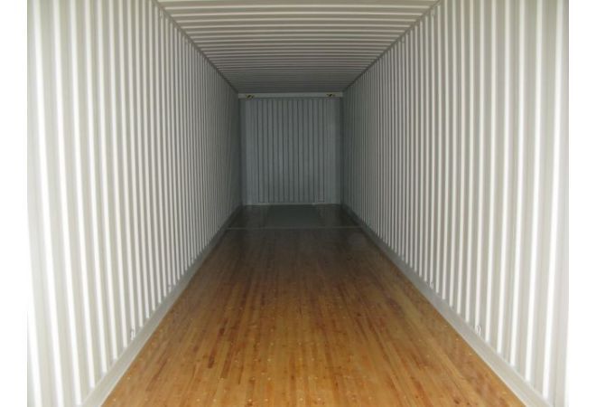 45ft High Cube Pallet Wide container 13.72 x 2.44 m
