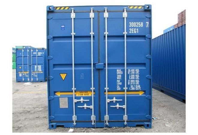 20ft high cube pallet wide container 6.06 x 2.44 meter