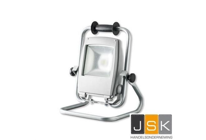 LED Werklamp op verstelbaar statief 35 watt klasse 2   dubbelgeïsoleerd   3 jaar garantie   116187 - JSK Handelsonderneming